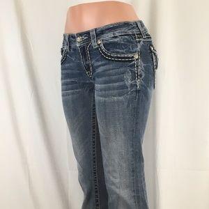 Miss Me Jeans - Miss Me Boot Cut Distressed size 29 ( EUC )